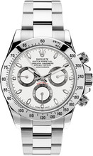 Rolex Pre Owned Steel Daytona 116520 White