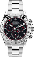 Rolex Pre Owned Steel Daytona 116520 Custom Arabic Racing