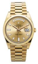 Rolex Yellow Gold President Day Date 40 Diamonds 228238