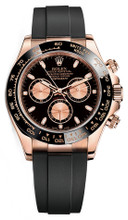 Rolex Everose Rubber Daytona 116515 Black Dial