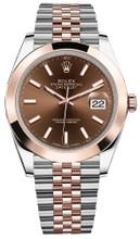 Rolex Datejust 41mm Everose Gold and Steel 126301 CISJ