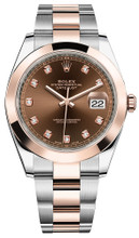 Rolex Datejust 41mm Everose Gold and Steel 126301 CDSO