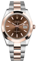 Rolex Datejust 41mm Everose Gold and Steel 126301 CISO