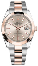 Rolex Datejust 41mm Everose Gold and Steel 126301 SISO