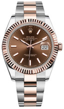 Rolex Datejust 41mm Everose Gold and Steel 126331 CIFO