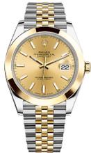 Rolex Datejust 41mm Yellow Gold and Steel 126303 CISJ