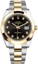 Rolex Datejust 41mm Yellow Gold and Steel 126303 BDSO