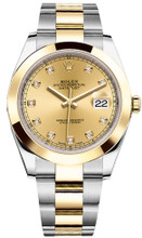 Rolex Datejust 41mm Yellow Gold and Steel 126303 CDSO