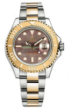 Rolex Yacht-Master Two-Tone Custom Dark Pearl 16623 Pre-Owned