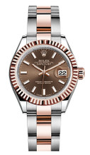 Rolex Lady Datejust 28mm Everose Fluted Two-Tone 279171CIFO