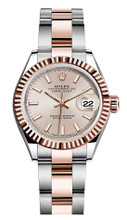 Rolex Lady Datejust 28mm Everose Fluted Two-Tone 279171SIFO