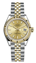 Rolex Lady Datejust 28mm Fluted Two-Tone 279173 CIFJ