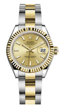 Rolex Lady Datejust 28mm Fluted Two-Tone 279173 CIFO