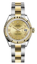 Rolex Lady Datejust 28mm Fluted Two-Tone 279173 CRFO