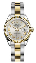 Rolex Lady Datejust 28mm Fluted Two-Tone 279173 SRFO