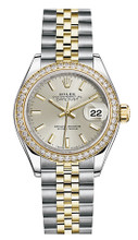 Rolex Lady Datejust 28mm Diamond Bezel Two-Tone 279383 SIDJ