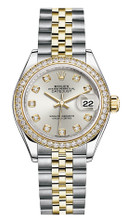 Rolex Lady Datejust 28mm Diamond Bezel Two-Tone 279383 SDDJ