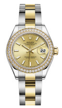 Rolex Lady Datejust 28mm Diamond Bezel Two-Tone 279383 CIDO