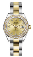 Rolex Lady Datejust 28mm Diamond Bezel Two-Tone 279383 CRDDO