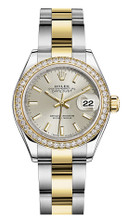 Rolex Lady Datejust 28mm Diamond Bezel Two-Tone 279383 SIDO