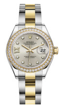 Rolex Lady Datejust 28mm Diamond Bezel Two-Tone 279383 SRDDO