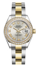 Rolex Lady Datejust 28mm Diamond Bezel Two-Tone 279383 SRDO