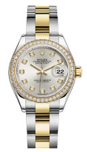 Rolex Lady Datejust 28mm Diamond Bezel Two-Tone 279383 SDDO