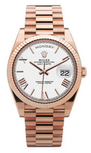 Rolex Everose Gold President Day Date 40 228235 WRF