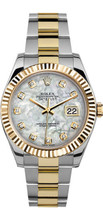 Rolex 41mm Datejust II 116333 Custom Mother Of Pearl