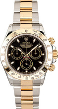 Rolex Pre-Owned Yellow Gold Daytona 116523 Black