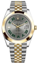 Rolex Datejust 41mm Yellow Gold and Steel 126303 GRJ