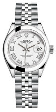 Rolex Lady Datejust 28mm Smooth Stainless Steel 279160WRSJ