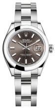 Rolex Lady Datejust 28mm Smooth Stainless Steel 279160BISO
