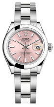 Rolex Lady Datejust 28mm Smooth Stainless Steel 279160PISO