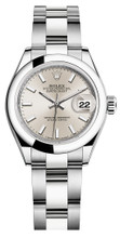 Rolex Lady Datejust 28mm Smooth Stainless Steel 279160SISO