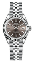 Rolex Lady Datejust 28mm Fluted Stainless Steel 279174BIFJ