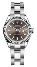 Rolex Lady Datejust 28mm Fluted Stainless Steel 279174BIFO