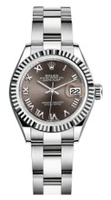 Rolex Lady Datejust 28mm Fluted Stainless Steel 279174BRFO