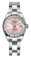 Rolex Lady Datejust 28mm Fluted Stainless Steel 279174PIFO