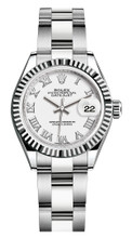 Rolex Lady Datejust 28mm Fluted Stainless Steel 279174WRFO