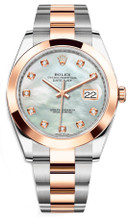 Rolex Datejust 41mm Everose Gold and Steel 126301MOPDSO