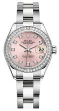 Rolex Lady Datejust 28mm Diamond Bezel Stainless Steel 279384PDDO