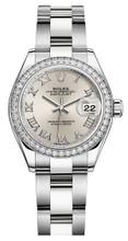 Rolex Lady Datejust 28mm Diamond Bezel Stainless Steel 279384SRDO