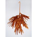 """Orange Twister Grass Glitter Spray (28"""")"""