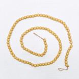60x.5 wood bead garland natural