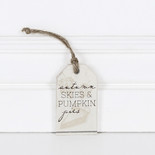 2x3.25x.25 wood tag (PKN PIES) wh/bn/tn