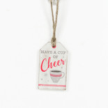 2x3.25x.25 wood tag (CHEER) multi