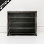 15x13x1.5 wood frmd sign (LETTERBOARD) black