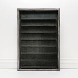 18x24x1.5 wood frmd sign (LETTERBOARD) black