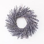 "10"" wreath psvd (LVNDR) pl"